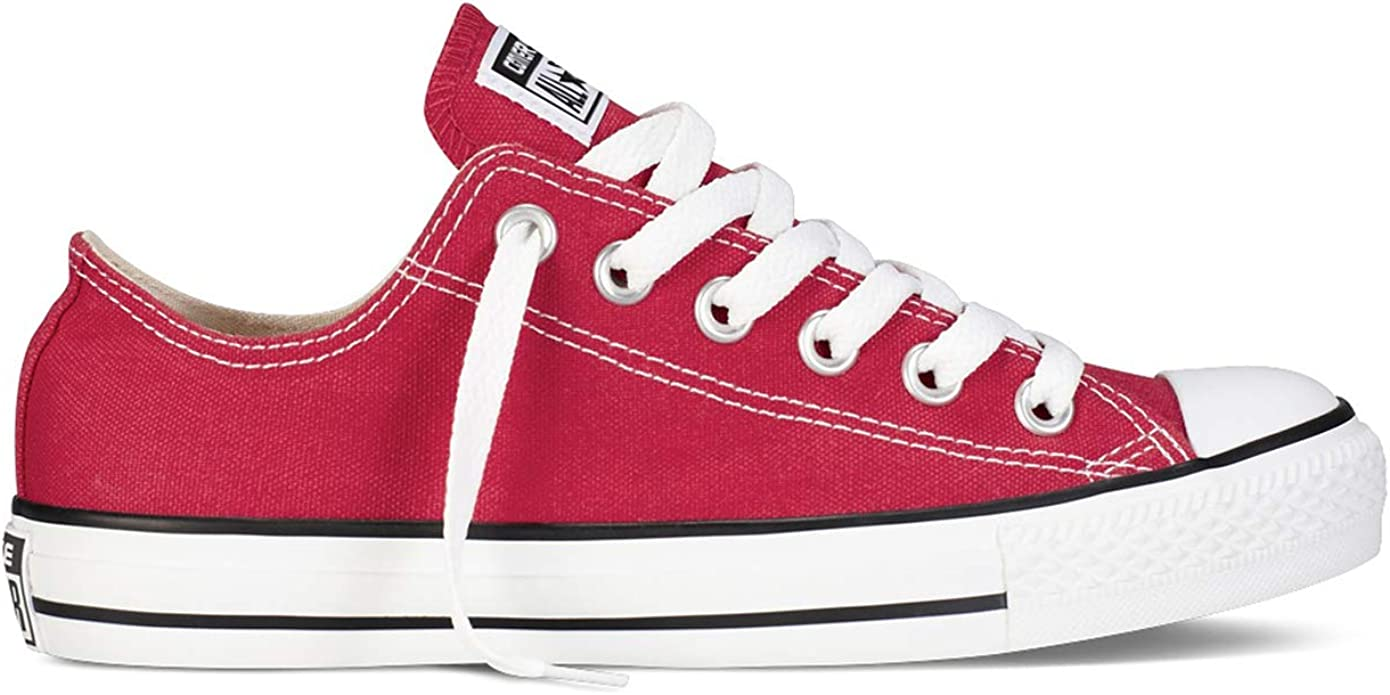 Converse Chucks Chuck Taylor Sneakers Low Top Damen Herren Unisex Rot