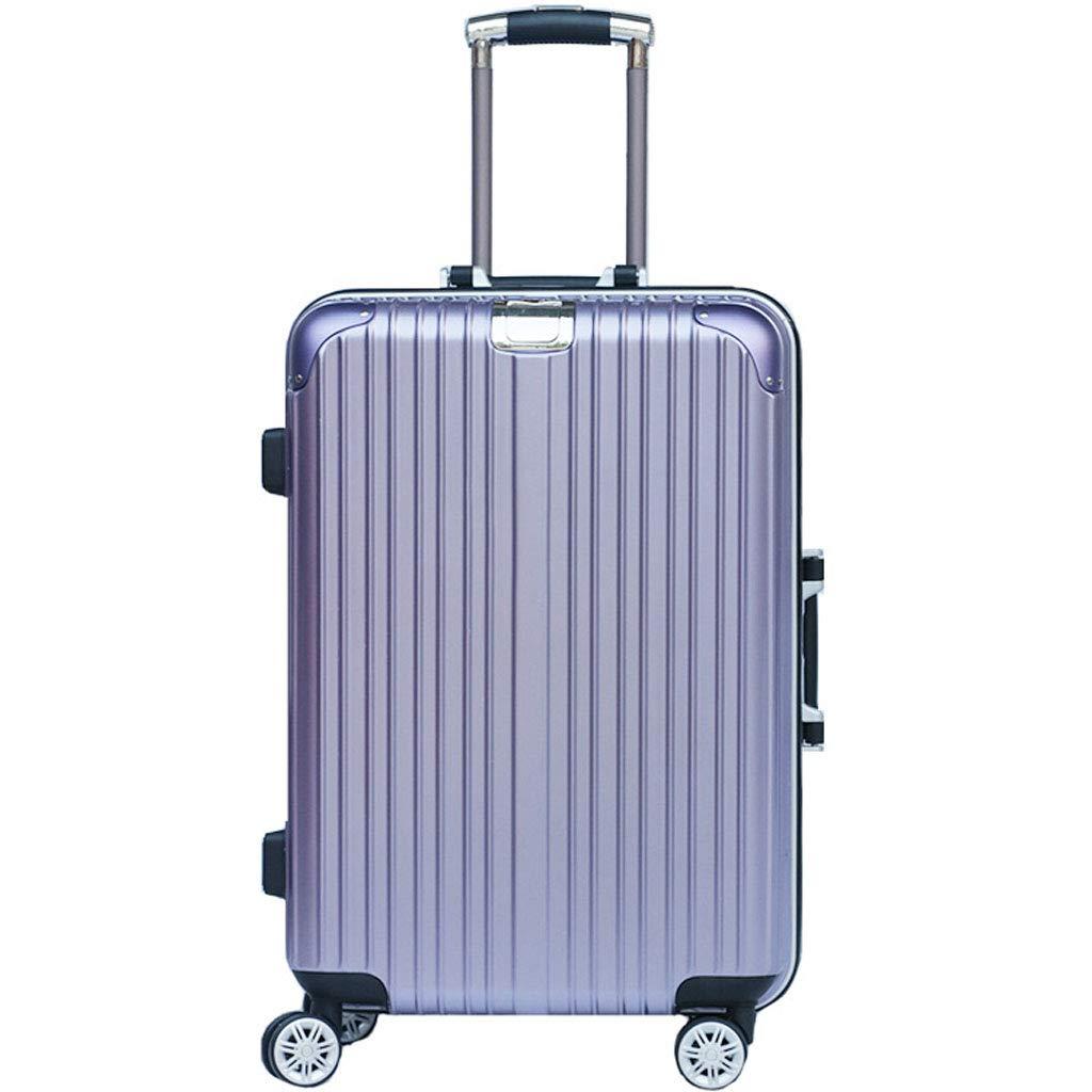 Mesurn JP ユニバーサルホイールトロリーケース、合金アルミフレーム材、2段ロック3桁コードロック、搭乗スーツケース B07NZBFQ6J