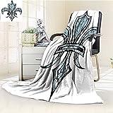AmaPark Digital Printing Blanket Grungy LilyRenaissance Spirit Element Victory Holy Print Summer Quilt Comforter