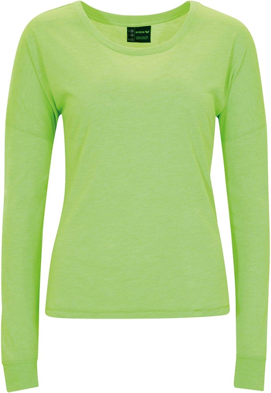 Summer Green Erima Green Workout Longsleeve