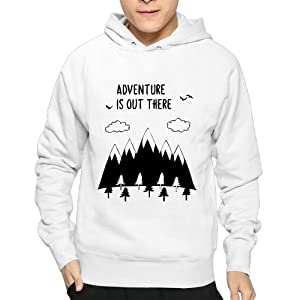 Adventure Is Out There Men's Hoodie Crazy