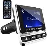 FMトランスミッター TC Bluetooth ワイヤレス 発信機 無線 レシーバー 高音質 TFカード & USBメモリー対応 急速充電USBポート搭載…