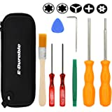 E.Durable Gamebit Set, 3.8mm and 4.5mm Security Screwdriver Game Bit Set for Sega Master Genesis 32x, NS Switch 3DS and N64 console, wii U, Game Cube Console,etc