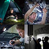 EverBrite 6-Pack Compact Work Light Magnetic 27-LED with Hanging Hook Batteries Included