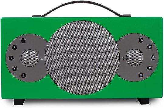 Tibo Sphère 4 - Altavoces portátiles Bluetooth y Wi-Fi para iOS y Android, Color Verde