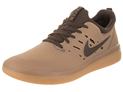 size 40 f66ce 94f48 Nike SB Nyjah Free Homme Baskets Gum Brown - 41 EU