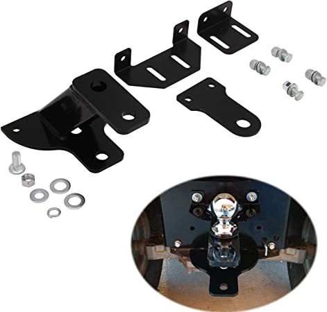 Universal Lawn Garden Tractor Hitch With Support Brace Kit