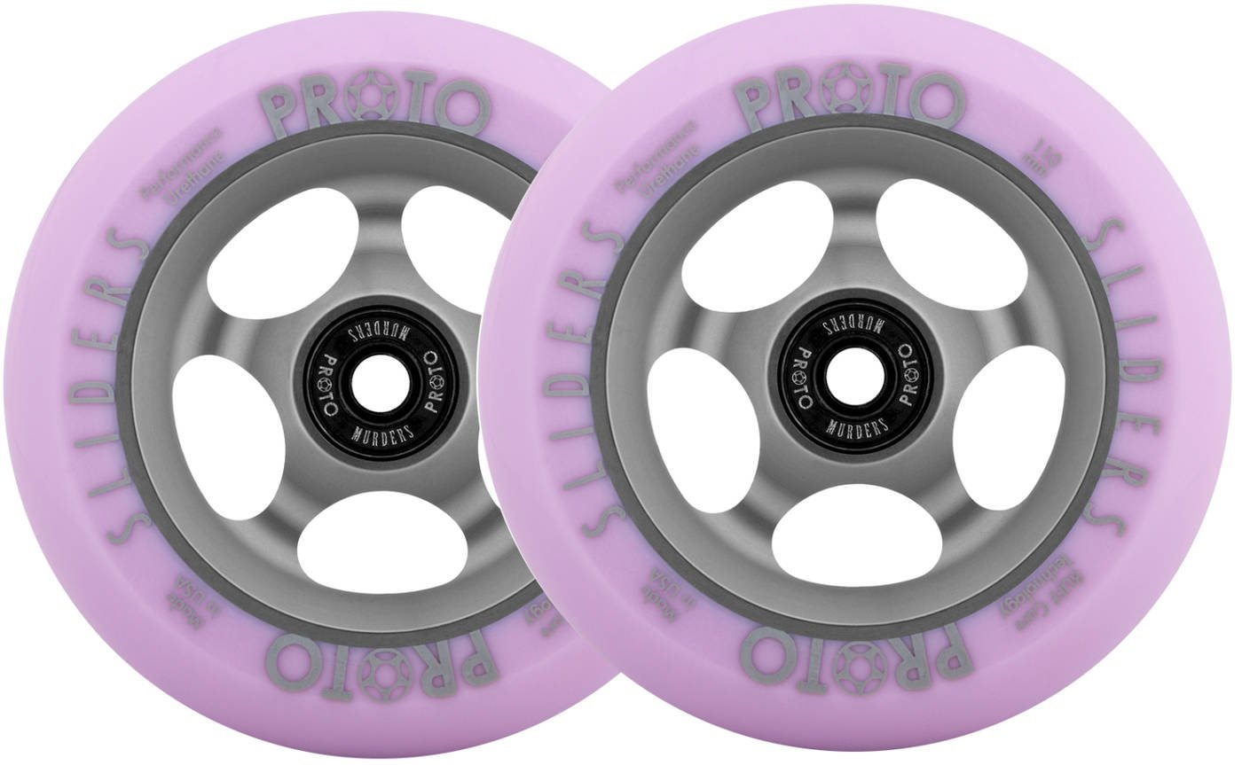 Proto Slider Faded Ruedas Patinete Scooter Pack de 2 (110mm ...