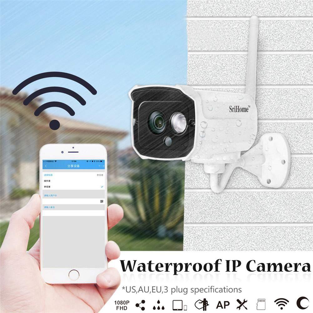 Amazon.com: oftenrain IP Camera Outdoor 1080P H.264 Metal ...