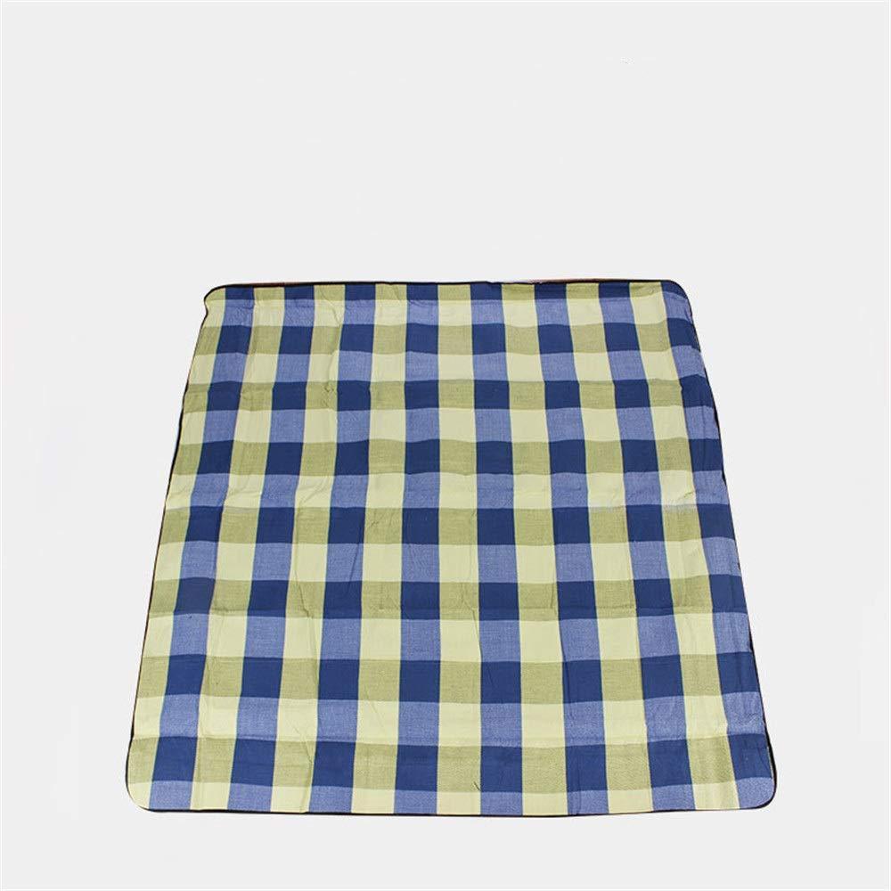 T2 3m3m Noodei Tapis de Pique-Nique, Tapis rembourré imperméable portatif de Tapis de Camping imperméable extérieur à l'humidité Sacs de Couchage de Camping