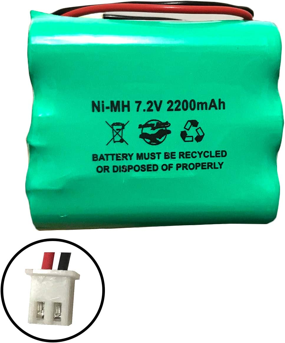 Bateria 7.2v 2200mAh Ni-MH (5 x 2.5 x 2.5cm)