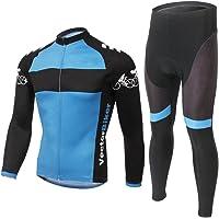 LongSpoz Spoz Men Cycling MTB Gel Padded Jersey