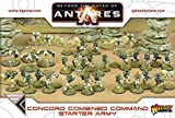 Beyond The Gates Of Antares, Concord Combined Command Starter Army
