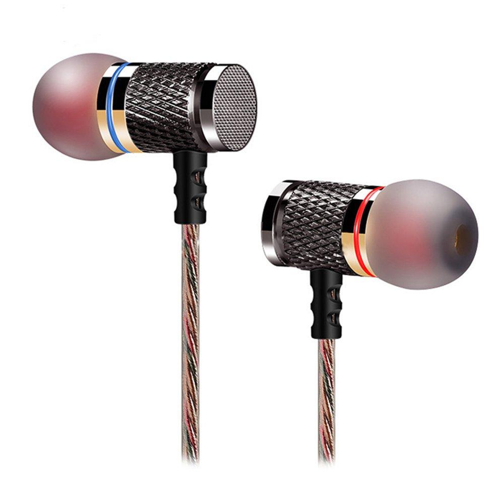 KZ ed2ステレオメタルイヤホンwithマイクノイズキャンセリングイヤホン耳にヘッドセットDJ XBS BassイヤホンHIFI Ear Phones B01M65LQCN without microphone without microphone