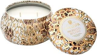 product image for Voluspa Prosecco Bellini 2 Wick Maison Metallo Candle, 11 Ounce