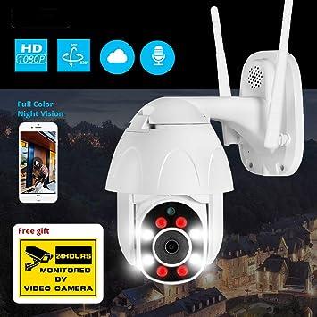 Camaras De Vigilancia 1080P Al Aire Libre Cámara Ptz CCTV ...