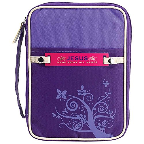 Purple Bible Case - Large -