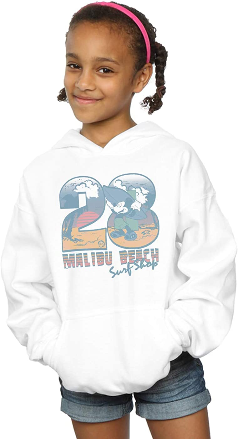 Disney Girls Mickey Mouse Surf Shop Hoodie