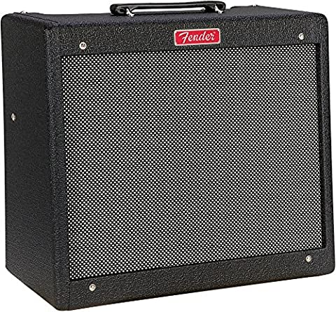 Fender Limited Edition Blues Junior Humboldt Hot Rod 15W Combo Amplifier Black Nubtex - Fender Blues Combo Amps