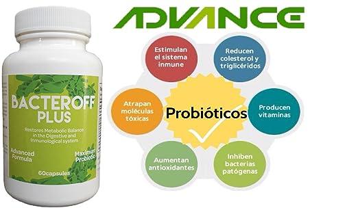Amazon.com: Best (QG5) Probiotic Probiotico Natural Reduce la Hinchazón Abdominal! Mejora la digestión!: Health & Personal Care