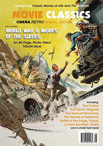 Cinema Retro World War II Movies of the Sixties Special 80 Page Ltd Edition Issue