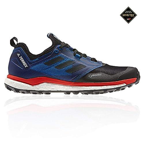 Adidas Terrex Agravic XT GTX, Zapatillas de Deporte para Hombre, Negro Negbás/Belazu 000, 44 2/3 EU: Amazon.es: Zapatos y complementos