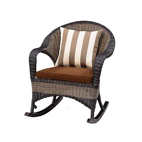 Amazon.com: ZHWEI Rocking Chair Home Adult Recliner Balcony ...