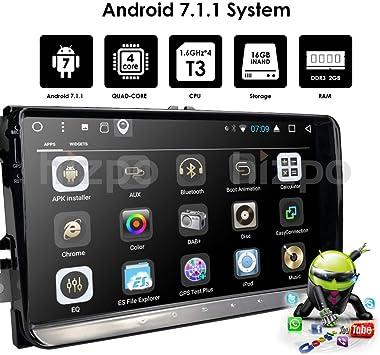 Android 7.1 Quad Core Car Estéreo 9