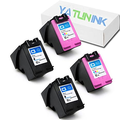 Amazon.com: yatunink (TM) 4 x 62 x l negro + color cartuchos ...