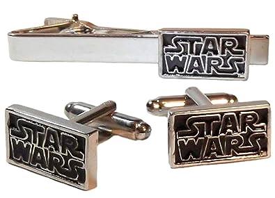 Star Wars TIE Pin Clip Bar Gemelos Gemelos de clip de corbata con ...