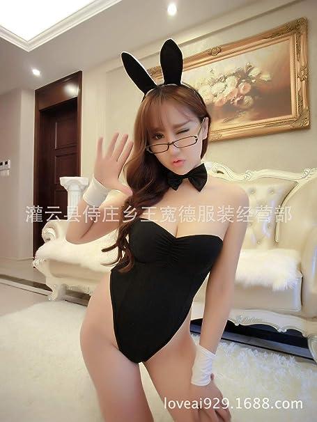 Poouoy Disfraz Colegiala Sexy Lencería Sexy Cosplay Bunny Babes ...