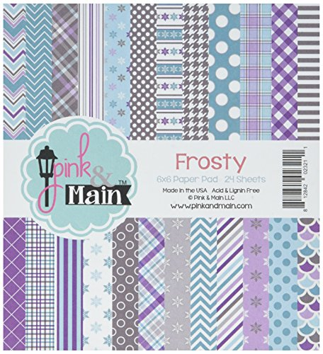 Pink & Main Frosty, 12 Designs/2 Each Double-Sided Paper Pad 6