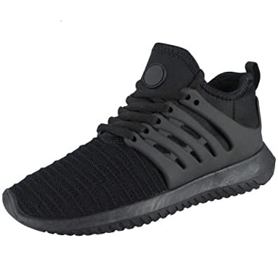 8c5968446156 Loud Look Mens Running Trainers Lace up Flat Comfy Fitness Gym Sports Shoes  Size 12