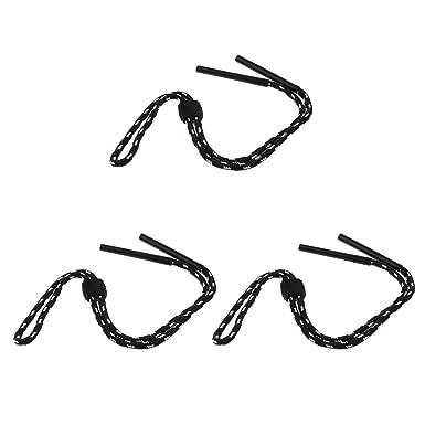 Sharplace 3pcs Chain Lunettes Solaire Sports d Enfants Lunette de Plongée  Cordon en Nylon - a1e22c841ace