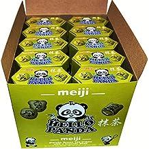 Meiji Hello Panda Cookies Filled With Matcha Green Tea Creme 10 Boxes in a Box 21 oz (1 LB 5 OZ)