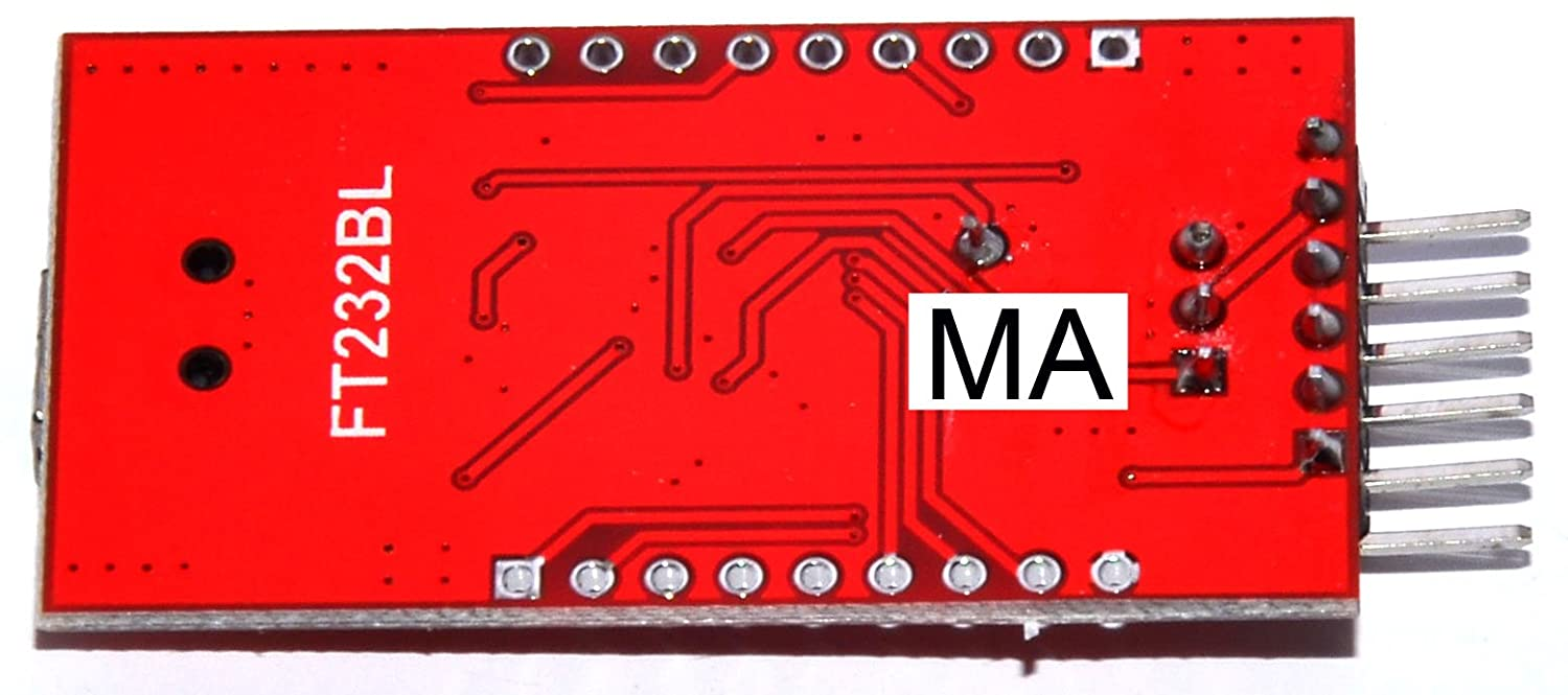 Ma Ft232bl Ftdi Usb To Ttl Serial Adapter Pcb Module For Arduin Mini Port Controller Tusb3410 Integrated Circuit Components 33v 55v Buy