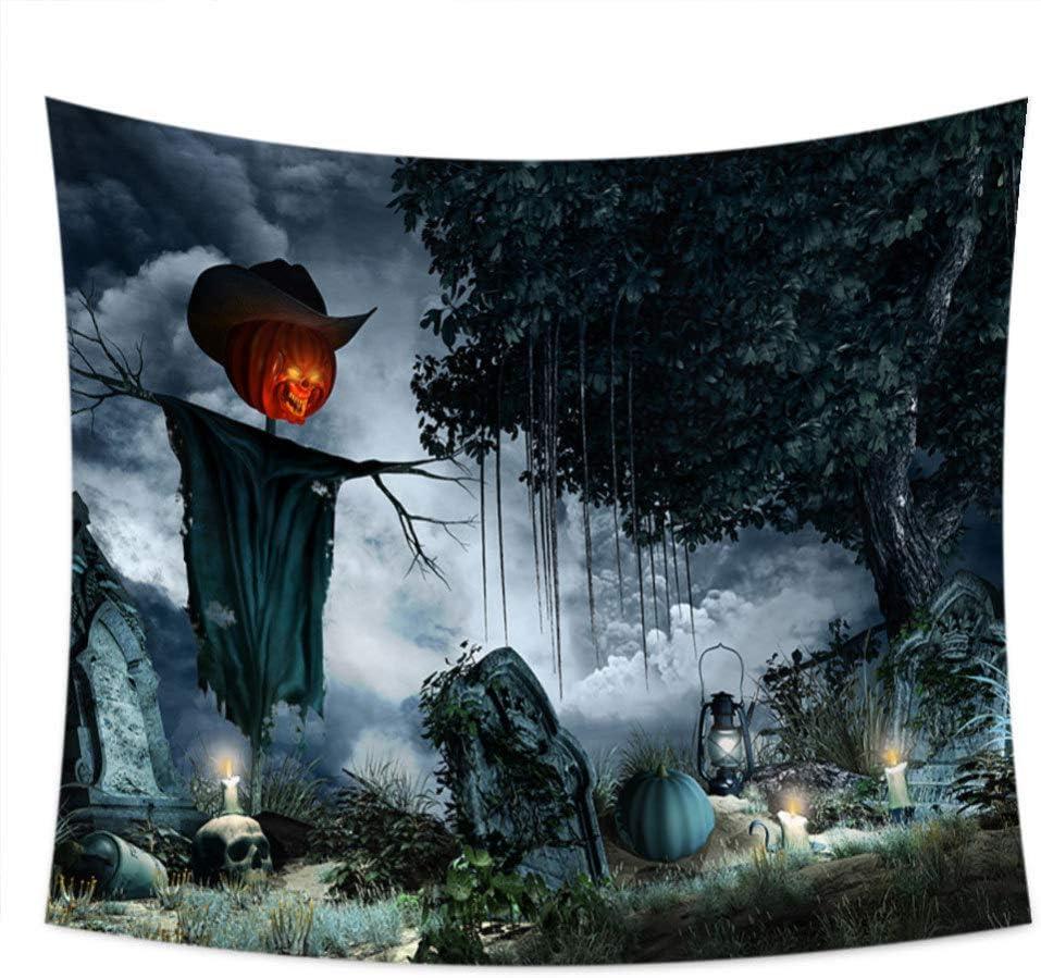 AIKAI Toalla De Impresión Digital De Horror De Halloween Que ...