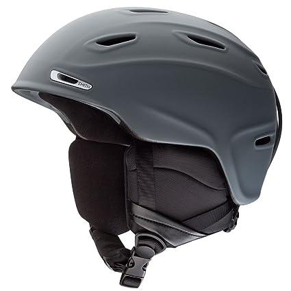 5fa78a5863 Smith Optics 2015 Men s Aspect Winter Snow Helmet (Matte Charcoal - S  51-55CM