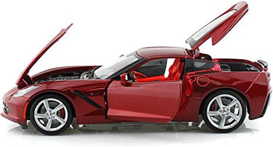 2014 C7 Chevy Corvette Stingray 1//18 Red by Maisto