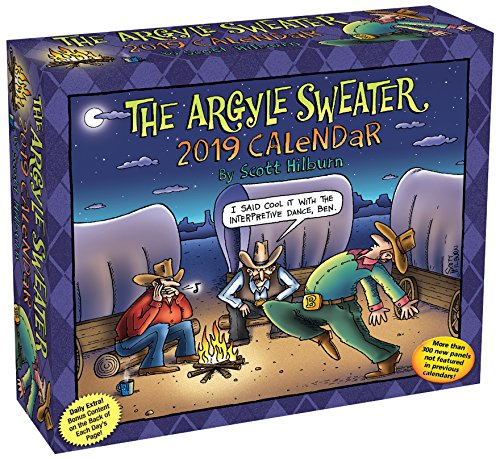 Price comparison product image The Argyle Sweater 2019 Day-to-Day Calendar