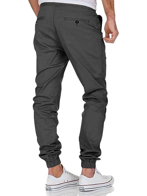 007ad6944cabe Jogging Pantalons de Survêtement Ceinture Élastique Sport Cargo Pantalons  avec Poches Joggers Activewear Pantalons pour Homme: Amazon.fr: Vêtements  et ...