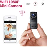 FREDI HD1080P WIFI telecamera Spia videocamera nascosta Mini Microcamera spia Videocamera di sorveglianza Interno IP telecamera di sorveglianza Spy Cam WIFI Camera spia versione aggiornata