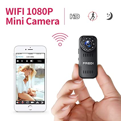 Fredi HD1080P WiFi Cámara Espía