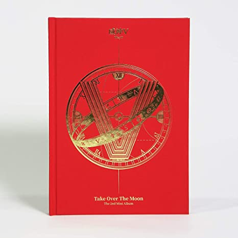 LABEL V WayV Take Over The Moon 2nd Mini Album CD+124p Photobook+Photocard+Circle Card+Folded Poster+Double Side Extra Photocards Set