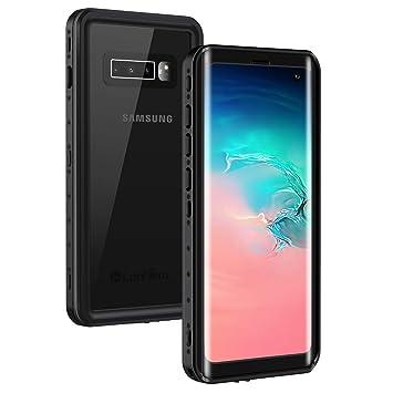 Lanhiem Funda Impermeable Samsung S10, Carcasa Resistente Al Agua IP68 Certificado [Protección de 360 Grados], Carcasa para Samsung Galaxy S10 ...