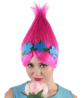 Amazon Com Disguise Women S Poppy Deluxe Adult W Wig Costume Clothing