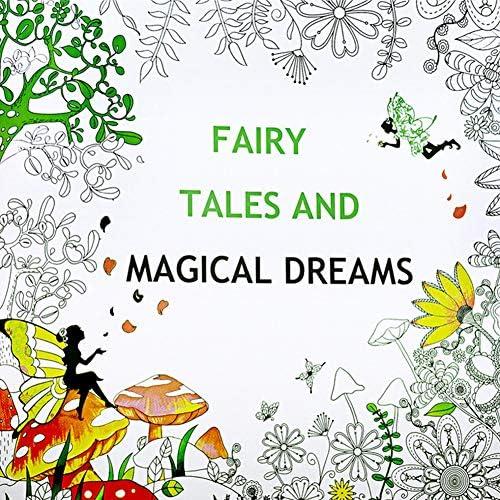 FairOnly Secret Garden Dépression Adult libro para colorear pintado a mano misterioso jardín libro para colorear Useful, color Fairytale Dreamland: Amazon.es: Oficina y papelería