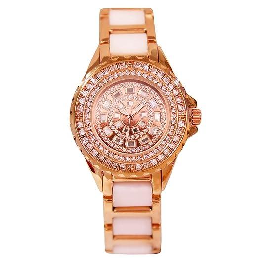 Reloj de mujer 2018 Nuevo reloj mecánico automático reloj de estudiante Vestido de mujer impermeable retro reloj de señora Dial grande: Amazon.es: Relojes