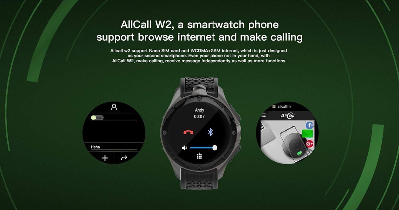 HHJEKLL Pulsera Inteligente 3G Smart Watch sim Phone GPS ...