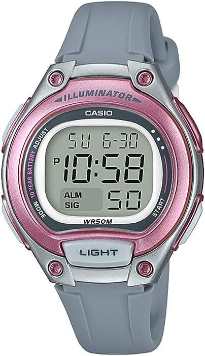 a74934aa1d03 Casio Reloj Digital para Mujer de Cuarzo con Correa en Plástico LW-203-8AVEF
